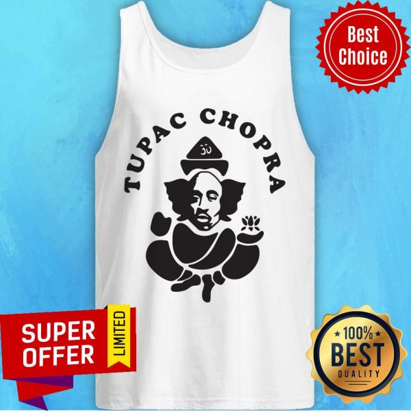 Funny Tupac Chopra Tank Top