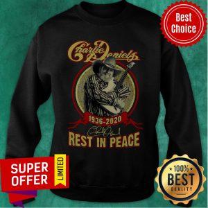 Nice Charile Daniels 1930 2020 Rest In Peace Sweatshirt