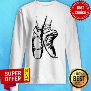 Premium Ballet Shoes Sweatshirt