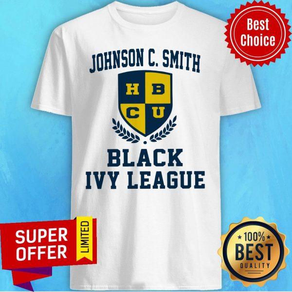 Top Johnson C.Smith HBCU Black Ivy League Shirt