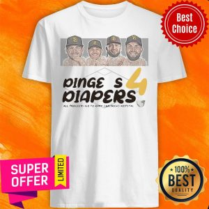 Diaper Run Dingers 4 Diapers All Proceeds Go To Rady Children's Hospital Shirt
