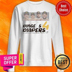 Diaper Run Dingers 4 Diapers All Proceeds Go To Rady Children's Hospital Sweatshirt