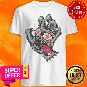 Nice Devil Demon Hand Comics Drawing Shirt