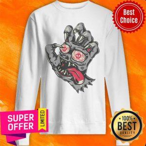 Nice Devil Demon Hand Comics Drawing Sweatshirt