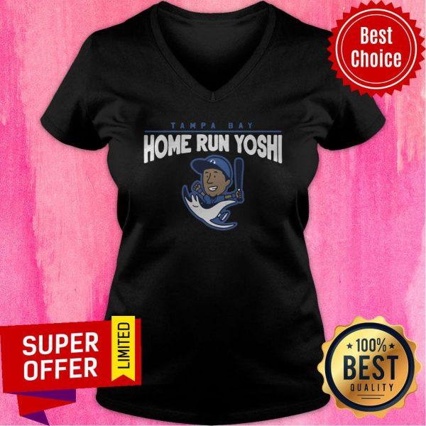 Premium Tampa Bay Home Run Yoshi V-neck