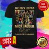 The Rock Legend 77 Mick Jagger Thank You For The Memories Signatures Shirt