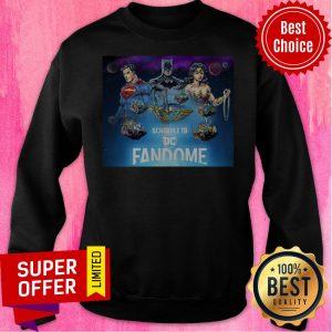 Top DC Fandome Team Fandome Logo Premium Sweatshirt