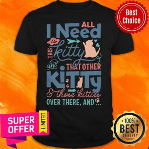 All I Need Kitty That Other Kitty And Those Kitties Over There And Shirt