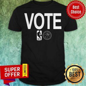 Nice NBA Vote National Basketball Players Association Shirt