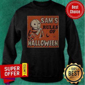 Nice Sam's Rules Of Halloween Sweatshirt
