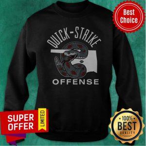 Official Quick Strike Offense Football Sweatshirt