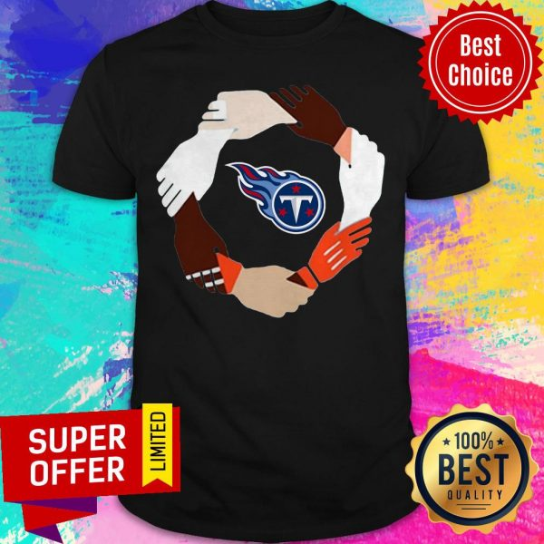 Premium Tennessee Titans Hand By Hand Shirt