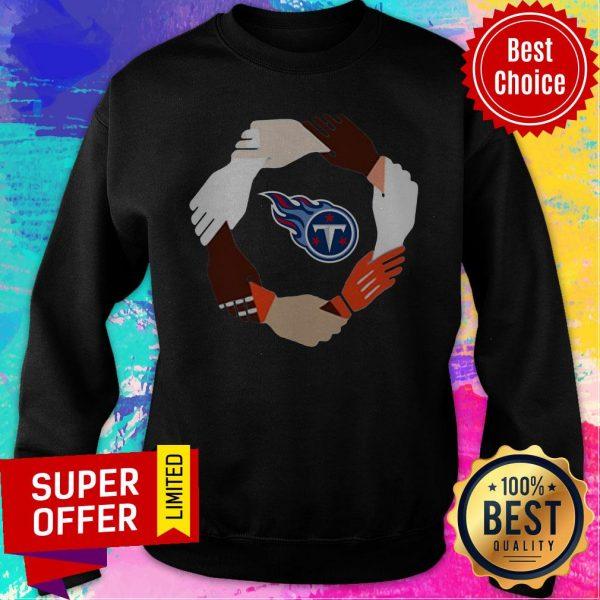 Premium Tennessee Titans Hand By Hand Sweatshirt