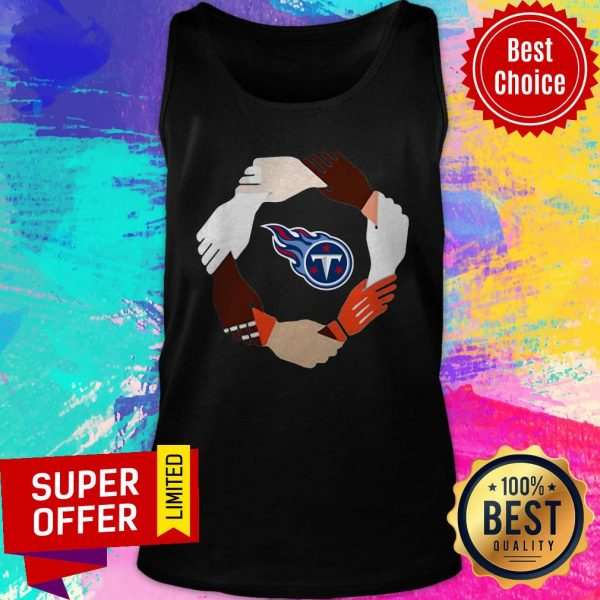 Premium Tennessee Titans Hand By Hand Tank Top
