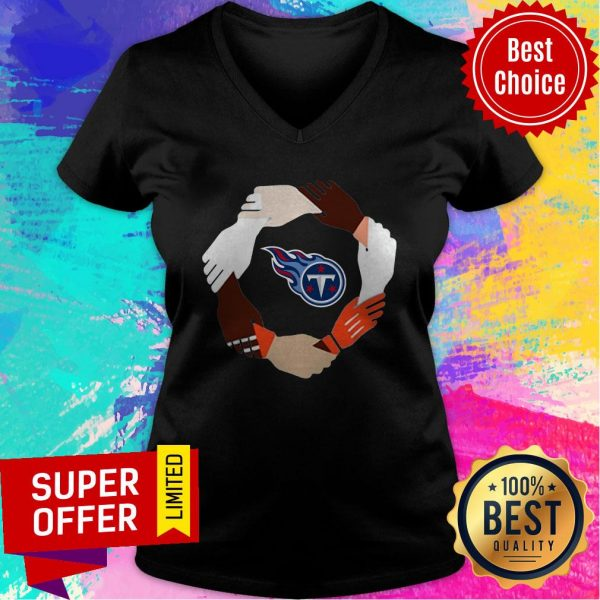 Premium Tennessee Titans Hand By Hand V-neck
