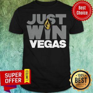 Top Just Win Vegas Las Vegas Football Shirt