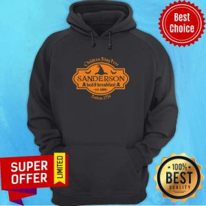 Witch Children Stay Free Sanderson Bed And Breakfast East 1693 Salem Hoodie