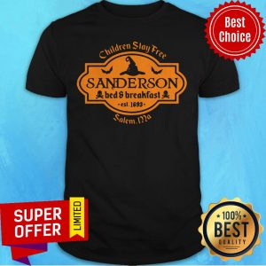 Witch Children Stay Free Sanderson Bed And Breakfast East 1693 Salem Shirt