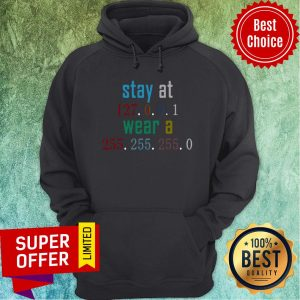Awesome Stay At 127 0 0 1 Wear 255 255 255 0 Funny IT Code Hoodie