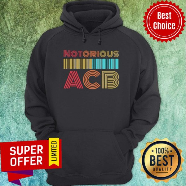 Nice Vintage Retro Amy Coney Barrett Notorious ACB Fill That Seat Hoodie