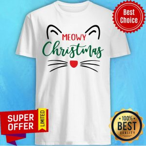 Official Meowy Christmas Shirt