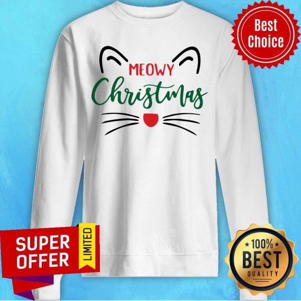 Official Meowy Christmas Sweatshirt