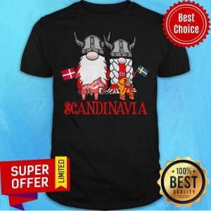Top Scandinavian Skandinavisches Nordischer Gnome Viking ShirtTop Scandinavian Skandinavisches Nordischer Gnome Viking Shirt