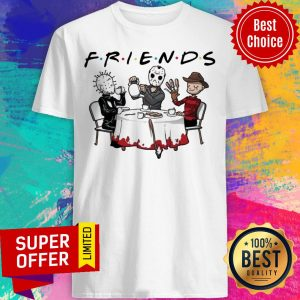 Hellraiser Jason Voorhees Freddy Krueger Friends Halloween Shirt