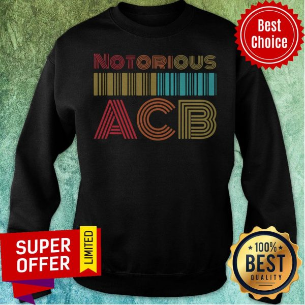 Nice Vintage Retro Amy Coney Barrett Notorious ACB Fill That Seat Sweatshirt