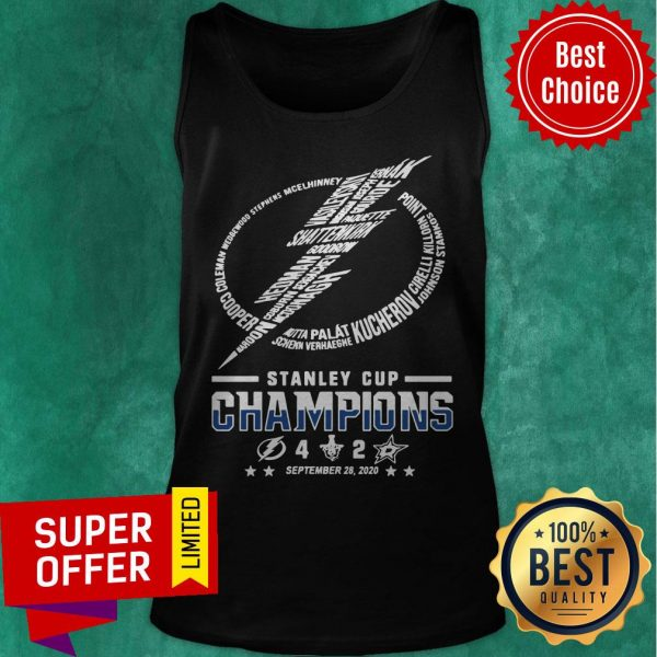 Top Stanley Cup Champions 4 2 September 28 2020 Tank Top