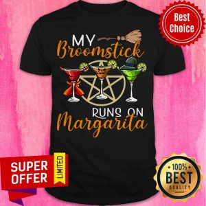 Wines My Broomstick Runs On Margarita Supernatural Halloween Shirt