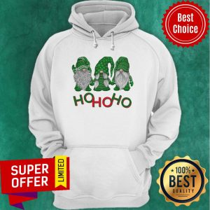 3 Wise Gnomes Christmas Pajamas Holiday Ho Ho Ho 2020 Hoodie
