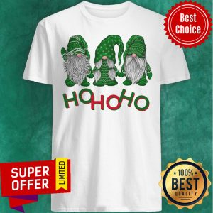 3 Wise Gnomes Christmas Pajamas Holiday Ho Ho Ho 2020 Shirt