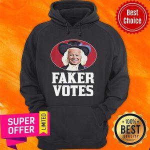 Awesome Joe Biden Faker Votes Hoodie