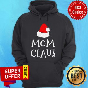Awesome Mom Claus Christmas Hat Hoodie