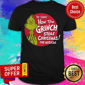 Awesome The Grinch 2020 How The Covid Stole Christmas Shirt
