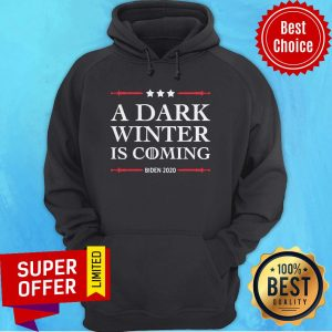 Funny A Dark Winter Is Coming Joe Biden 2020 Stars Election Hoodie