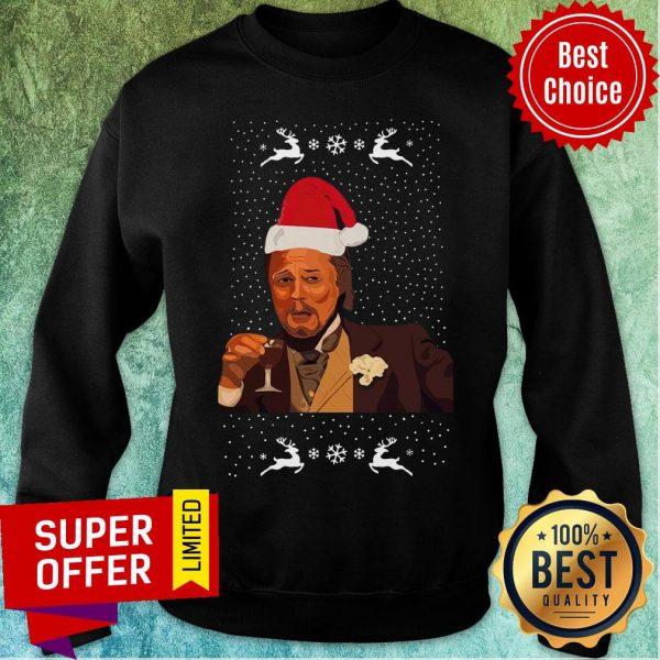 Premium Santa Leonardo DiCaprio Christmas Sweatshirt