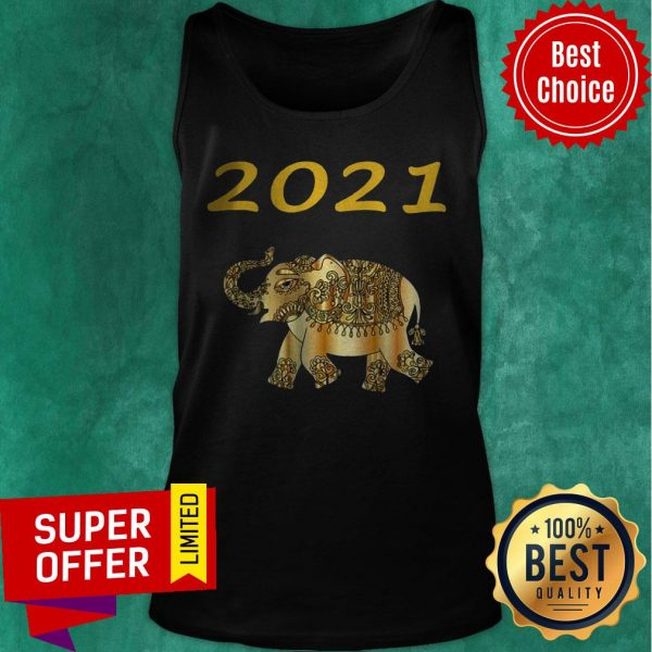 Top 2021 Republican Elephant Fun New Year Tank Top