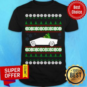 Awesome CyberTruck Tesla Ugly Christmas Shirt