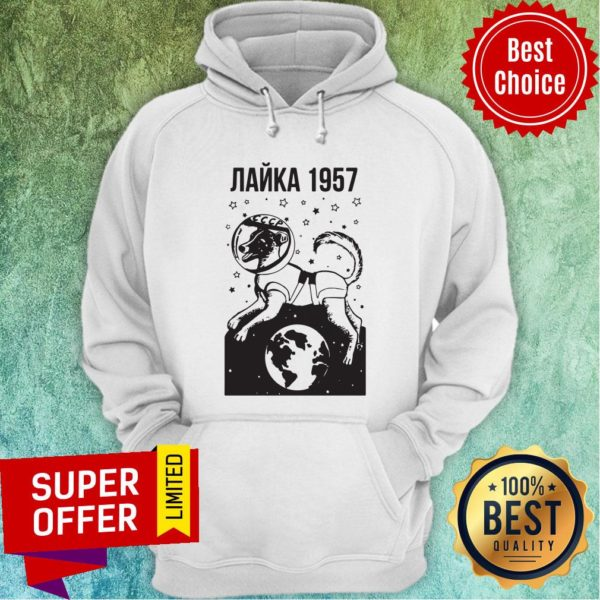 Official Laika 1957 Ringer Hoodie