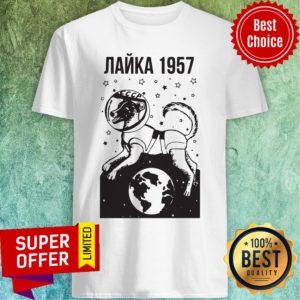 Official Laika 1957 Ringer Shirt