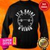 Awesome It's Gainz O'Clock Sweatshirt