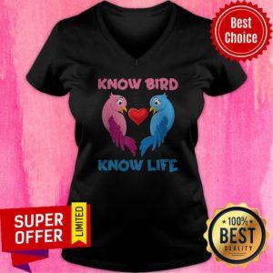 Awesome Know Bird Know Life V-neck