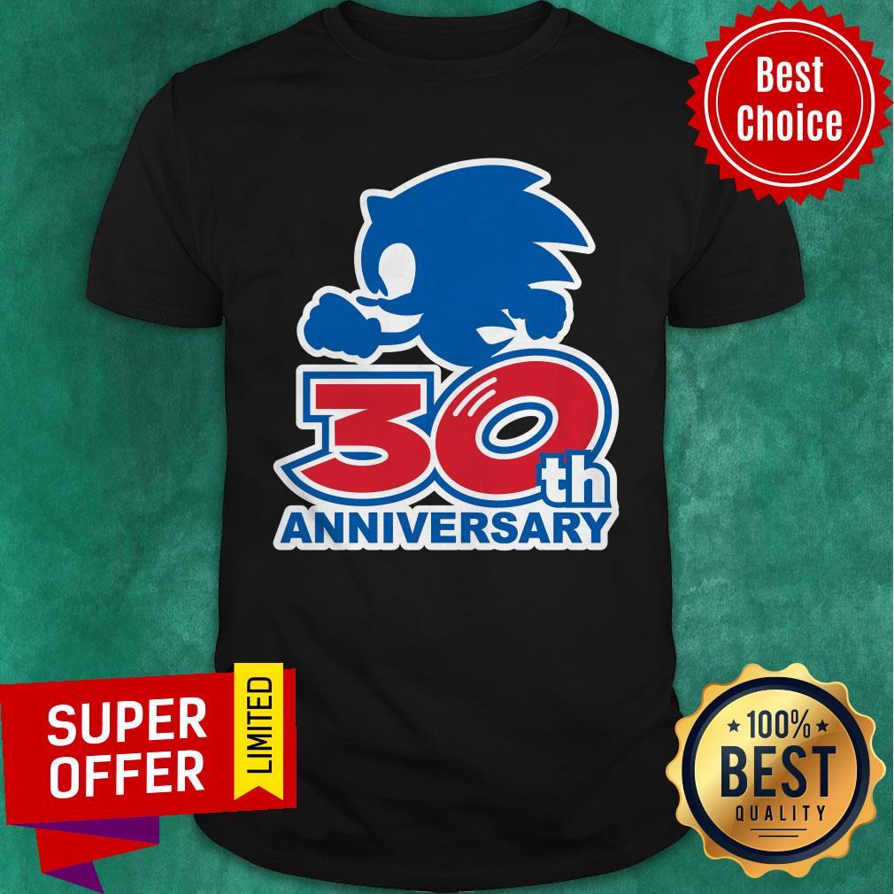 Funny Sonic 30th Anniversary Shirt