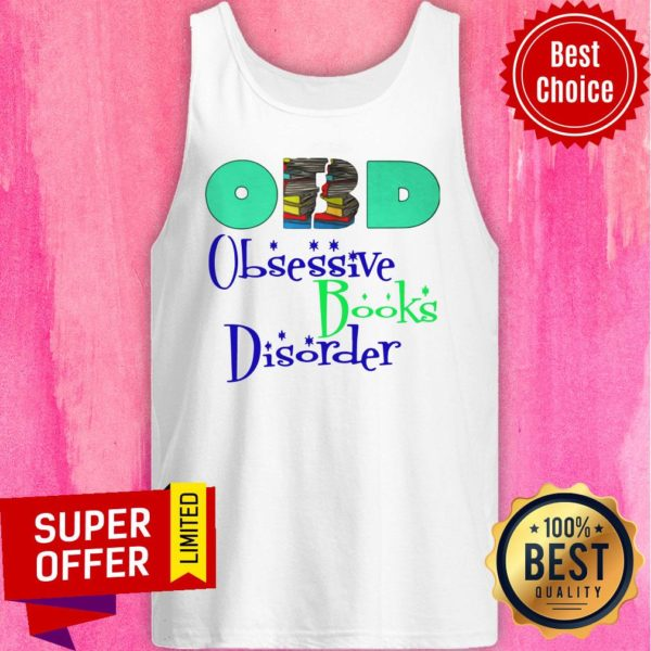 Nice Obd Obsessive Books Disorder Limited Tank Top