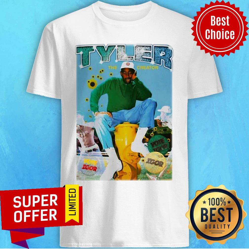 Nice Tyler The Creator Bootleg Rap Shirt