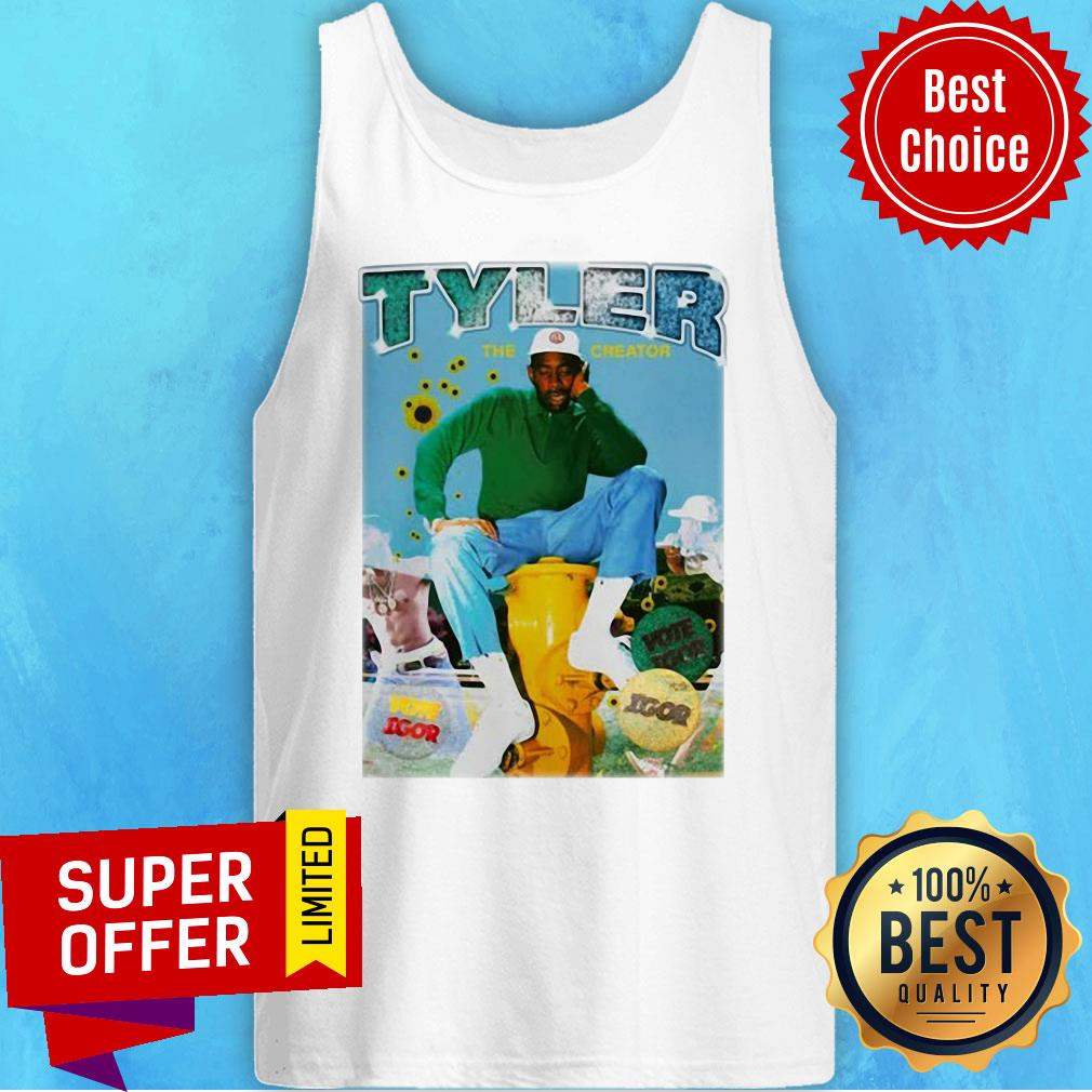 Nice Tyler The Creator Bootleg Rap Tank Top