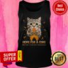 Official Cat Hope For A Cure Multiple Sclerosis Awareness Tank Top