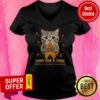 Official Cat Hope For A Cure Multiple Sclerosis Awareness V-neck
